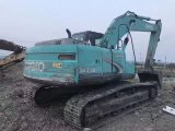 Máquina escavadora usada japonesa Kobelco Sk210-8
