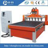 Una buena calidad máquina Router CNC con 6 de husillo de agua de refrigeración