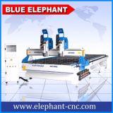 Router professionale di CNC per il taglio di legno e la macchina per incidere