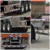6개의 타이어 3 차축 46000L Aluminum Alloy Tank Semi Trailer