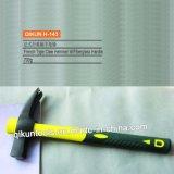 H-143 строительного оборудования ручных инструментов французского типа молотком лапу с желтой ручкой из стекловолокна