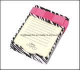 종이 트레이를 가진 최신 판매 다채로운 메모장 또는 메모 패드