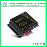 12/24V делают автоматический регулятор водостотьким обязанности 10A PWM солнечный (QW-SR-SL2410)