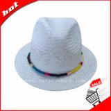 White o Fedora Hat Chapéu Mulher Hat