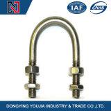 Potencia del hardware que ajusta el tipo tornillos de U con la tuerca/la abrazadera del cable galvanizada del tornillo de U