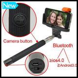 Accesorios populares del teléfono Monopod del palillo de Selfie con el obturador de Bluetooth