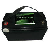 12V het IonenZonnestelsel van Li van het Pak LiFePO4 van de Batterij van het Lithium van 100ah