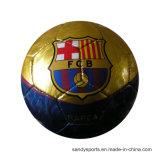 Bexiga de borracha costurada máquina Soccerball do PVC