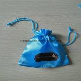 Custom ткань Сумки и чехлы Satin Ювелирный футляр для обвязки сеткой