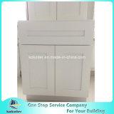 米国式の食器棚の白いシェーカーB27