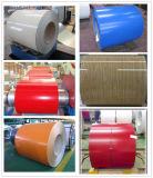 (0.125-1.3mm) Dx51d Prepainted 색깔에 의하여 입히는 직류 전기를 통한 강철