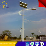 Battery Backup IP66 Solar LED Street Light com 8m Pole