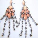Neues Entwurfs-Harz-Blumen-Halsketten-Armband-Ohrring-Form-Schmucksache-Set
