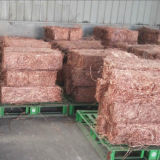 Millberry trozo de alambre de cobre, cable de cobre chatarra 99,99%.