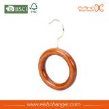 Gancio di legno dell'anello delle cinghie dei legami del bello singolo cerchio
