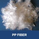 De Vezel van pp voor Concrete Vermengde Fibra voor Gebruikte Bouw