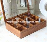 Caja retra de madera modificada para requisitos particulares del estilo de Europa para el empaquetado del perfume