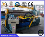 W11H-30X2500 máquina de rolamento de dobra da placa automática elevada dos rolos do quanlity 3