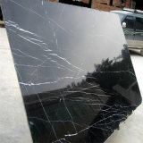 Prezzo di marmo nero poco costoso della Cina Nero Marquina di vendita calda