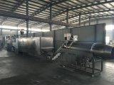 El Ce aprobó la alimentación flotante automática de los pescados que hacía la maquinaria