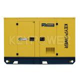 Небольшой размер Silent тип дизельный генератор красного цвета