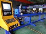 автомат для резки плазмы CNC трубы оси стали 3 диаметра 200mm