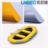Ткань стежком падения ткани шлюпки PVC раздувная для раздувной шлюпки