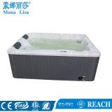 Vasca calda della doppia STAZIONE TERMALE esterna romantica di uso (M-3371A)