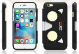 2016 Nieuw Product die de Glazen van het Geval Vr voor iPhone vouwen 5/6 Virtueel Geval van de Telefoon van de Cel van Vr van de Werkelijkheid ABS+PC