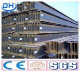 Viga de acero de Ss400 H para el edificio de la estructura de acero