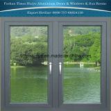 Des fenêtres à battants en aluminium avec la plus récente de conception et de couleur différente