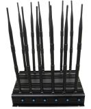 Hemmer 12 Bands Block Mobile Cell Phonnds Jammer Block Mobile Handy CDMA G/M GPS 4G 3G WiFi Lojack