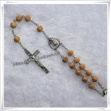 Rosa Perline di plastica catena Auto Rosario Moda Religiose Prodotti (IO-CB008)