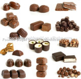 Mini prezzo automatico completo ad alta velocità della macchina imballatrice di flusso del cioccolato