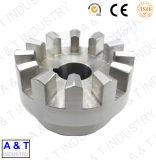 Peças mecânicas de bronze da máquina de giro do torno do CNC, peças de giro da pena