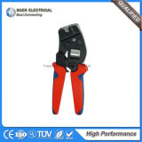 Автомобильный инструмент терминального блока проводки провода гофрируя