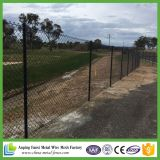Forte Estabilidade Low Carbon Steel Diamond Chain Link Fence Netting