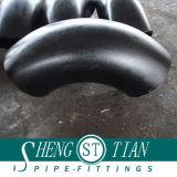 Anti-Corrosion管付属品の炭素鋼の肘のButtweld黒い鋼鉄肘