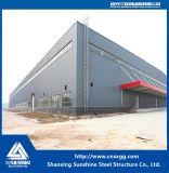 Estructura de acero de la luz de bajo coste de la construcción de Galpón Estructura de la fábrica de acero
