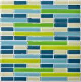 Farben-Badezimmer-Glasmosaik der Mischungs-30X30, Glasfliese