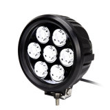 7 Polegada 70W Rodada Offroad 4X4wd luzes LED para Tratores da Máquina