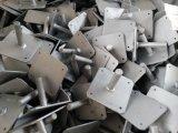 En74 Plaque de base d'échafaudage (125 * 125 * 5mm)