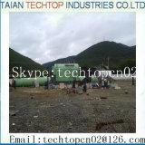 繊維工業の蒸気ボイラ