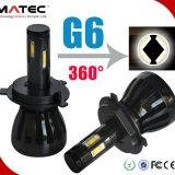 2017新しいG6 48W 4800lm自動H7 LEDのヘッドライト6000k 12V/24V