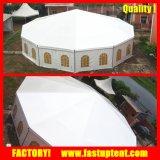 Cúpula Redonda Dodecagon polígono lado múltiplos Tenda para eventos de casamento festa