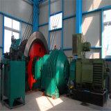 Única corda e grua dobro da mina do enrolamento do cilindro