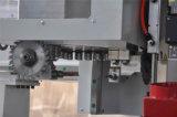 Ranurador de madera del CNC de la fabricación de cabina de la puerta con la pista aburrida