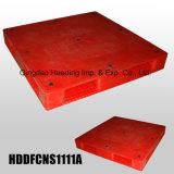 pálete plástica resistente de 1100X1100X150 milímetro com as plataformas Closed enfrentadas dobro