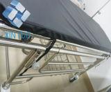 Medizinisches Krankenwagen-manuelles Bahre-Krankenhaus-Rad-geduldige Übergangslaufkatze