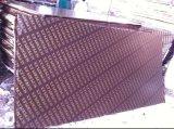 Madera contrachapada Shuttering hecha frente película de Marineplex Brown en la construcción 18m m